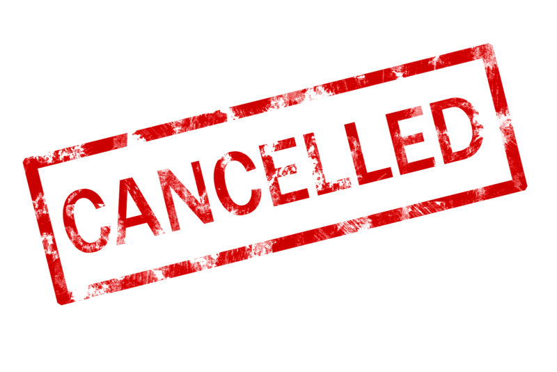 Cancellation of exhibition due to COVID-19